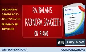 PIANO SHEET MUSIC BOOK PDF FOR RABINDRA SANGEET BY S RAJ